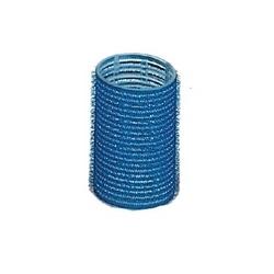 Bigodino adesivo 40mm blu 6pz