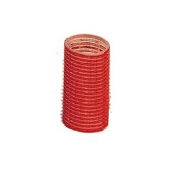 Bigodino adesivo 36mm rosso 12pz