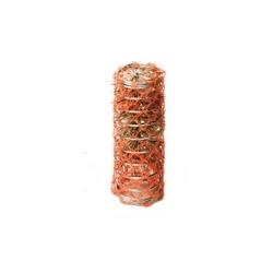 Bigodino rete 20mm rosso 12 pz