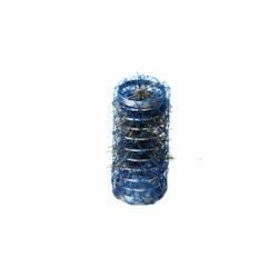 Bigodino rete 25mm blu 12 pz