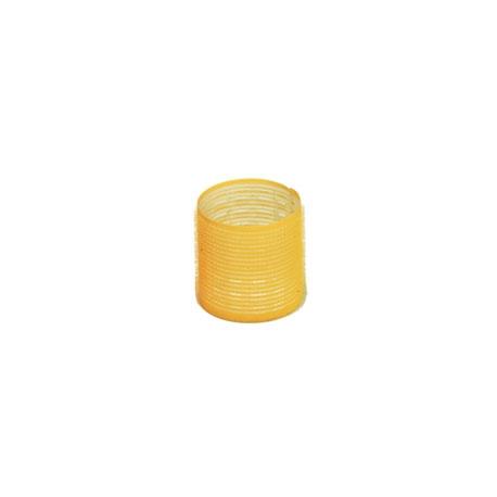 Bigodino adesivo 66mm giallo 12pz